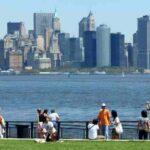 Manhattan desde la Isla de la Estatua de la Libertad - Nueva York