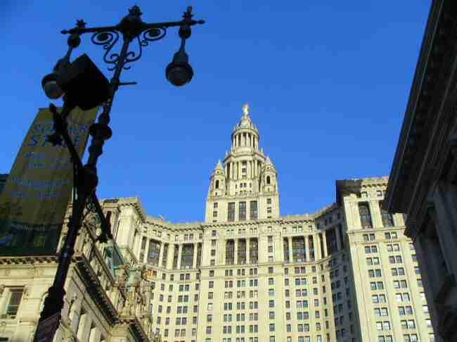 edificio municipal en manhattan nueva york