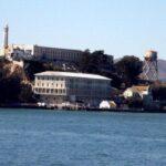 Prisión de Alcatraz en la Bahía de San Francisco en California