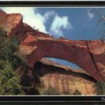 Parque Nacional Zion – Kolob Arch, impresionante arco natural rocoso