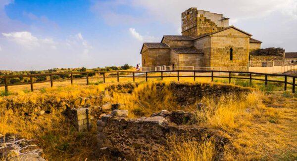 Ermita visigoda Santa María de Melque en la provincia de Toledo