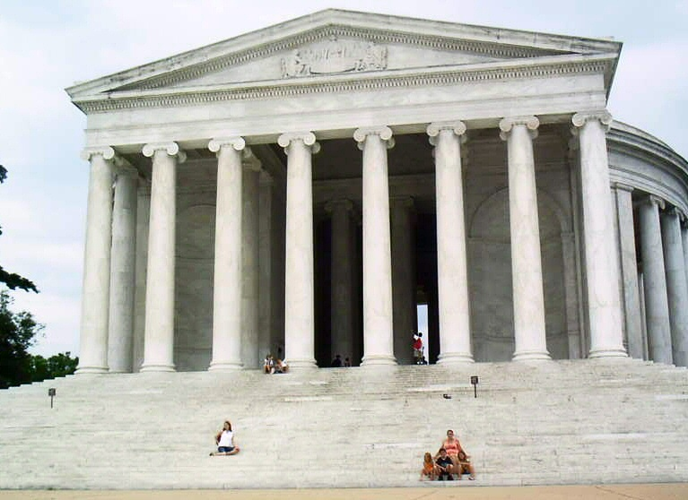 Monumento Thomas Jefferson Memorial en Washington