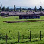 Antiguo campo de concentración de Auschwitz II Birkenau al sur de Polonia