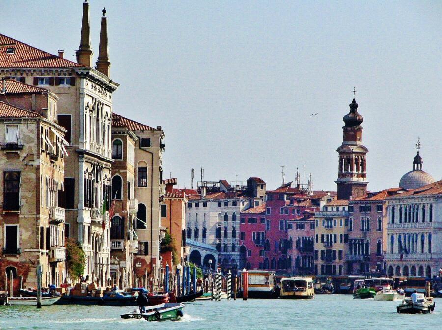 Gran Canal de Venecia en Italia