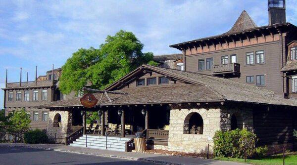 Hotel Tovar en el South Rim del Gran Cañón del Colorado