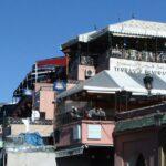 Miradores desde terrazas de restaurantes en la Plaza Jemaa El Fna de Marrakech - Marruecos