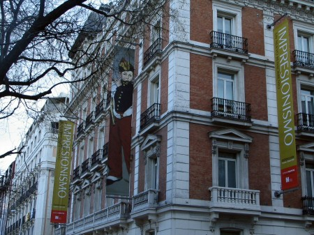 Exposición de pintura impresionista en la Fundación Maphre de Madrid en España