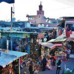 Zocos de Marrakech en Marruecos