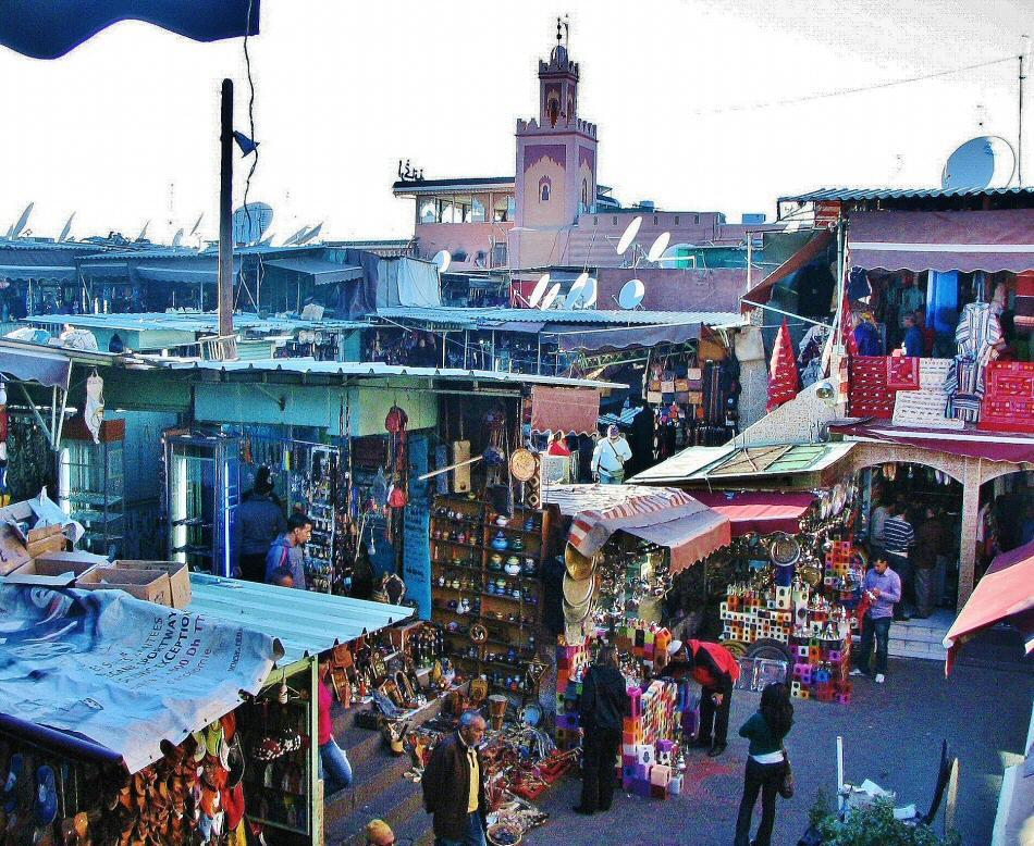 Qu ver en zocos de marrakech gu as viajar - Fotos marrakech marruecos ...