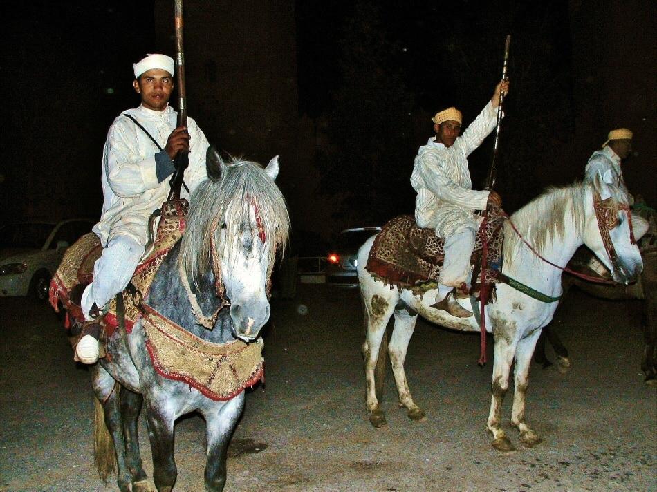 Fusileros en Casa Alí en Marrakech