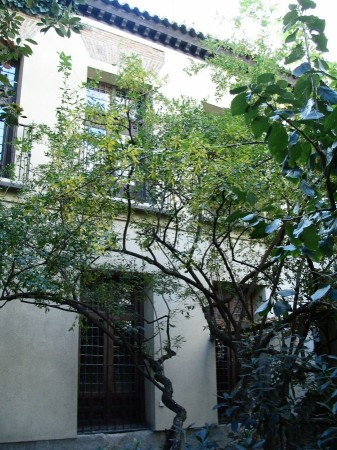 Jardín interior de la Casa Museo de Lope de Vega en Madrid