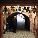 Rincón de la Medina de Marrakech en Marruecos