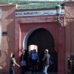 Entrada al Museo de Marrakech en el Palacio Mnebhis