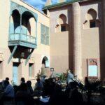 Edificio del Museo de Marrakech en el Palacio Mnebhi