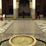 Fuente del Museo de Marrakech en el Palacio Mnebhi