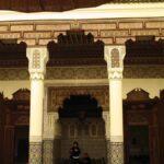 Rincón del Museo de Marrakech en el Palacio Mnebhi