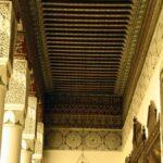 Elemento decorativo del Museo de Marrakech en el Palacio Mnebhi