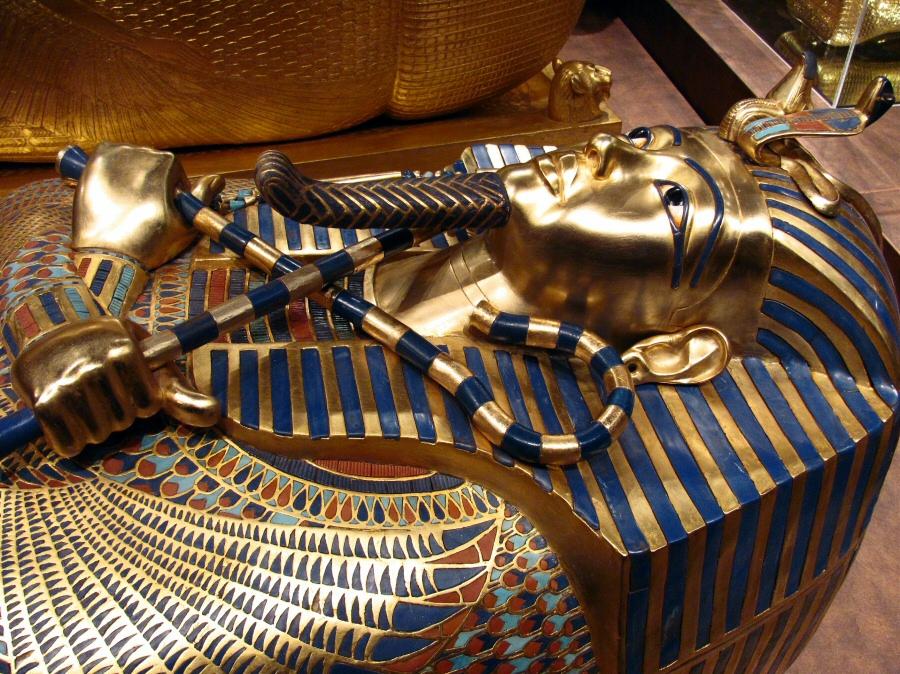 Exposición de la Tumba de Tutankamon durante el verano 2010 en Madrid