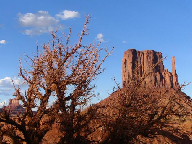 Parque navajo Monumento Valley en la Costa Oeste de Estados Unidos