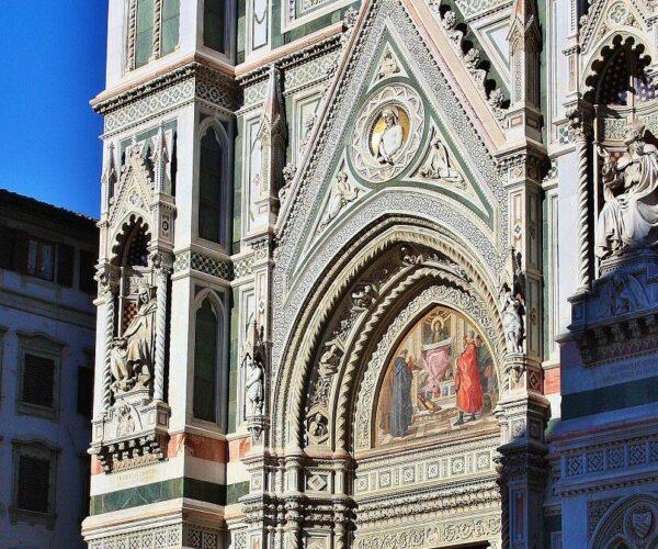 Fachada de la catedral Duomo de Florencia