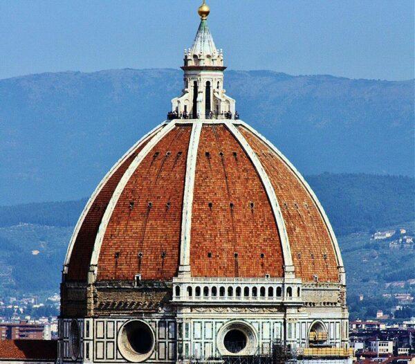 Cúpula de Brunelleschi en el Duomo de Florencia