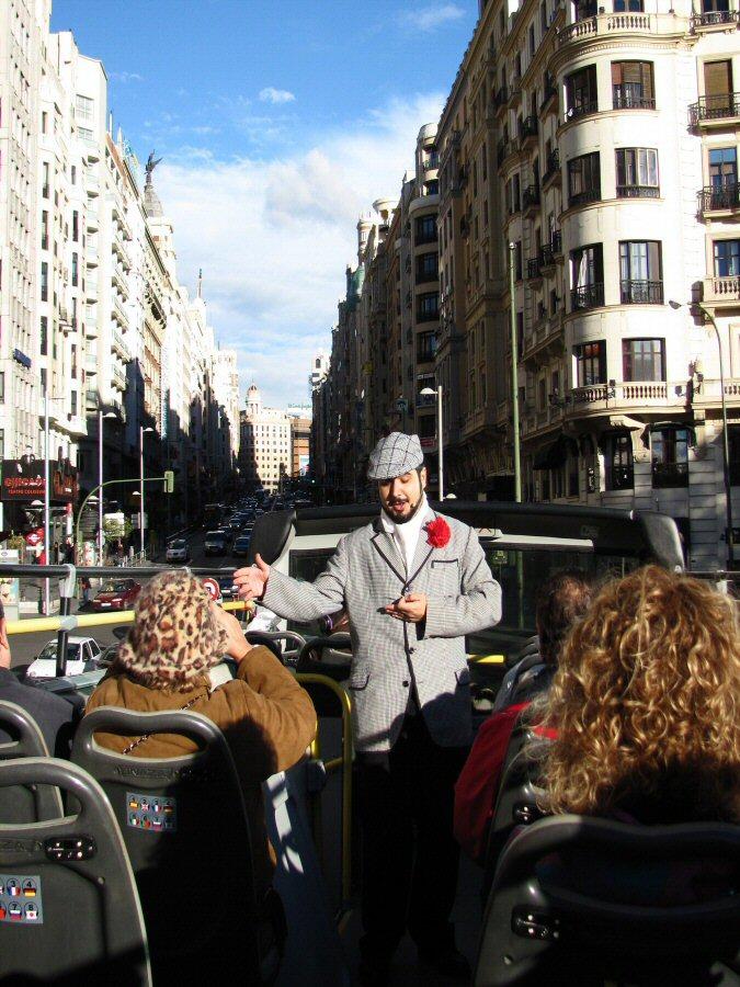 Visitas teatralizadas y musicales de la Gran Vía de Madrid