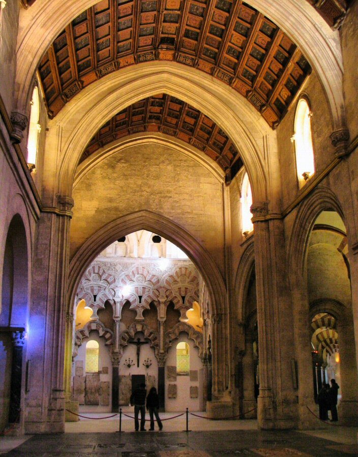 Fotos interior mezquita c rdoba gu as viajar for Mezquita de cordoba interior