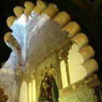 Rincón de la Capilla Real mudejar en la Mezquita de Córdoba
