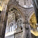 Decoración renacentista en la basílica cristiana de la Mezquita de Córdoba