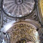 Cúpula de la basílica renacentista de la Mezquita de Córdoba
