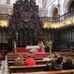 Decoración del Coro de la basílica renacentista de la Mezquita de Córdoba