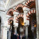 Arcos islámicos en el crucero de la basílica renacentista de la Mezquita de Córdoba