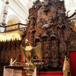 Coro de la catedral cristiana de la Mezquita de Córdoba