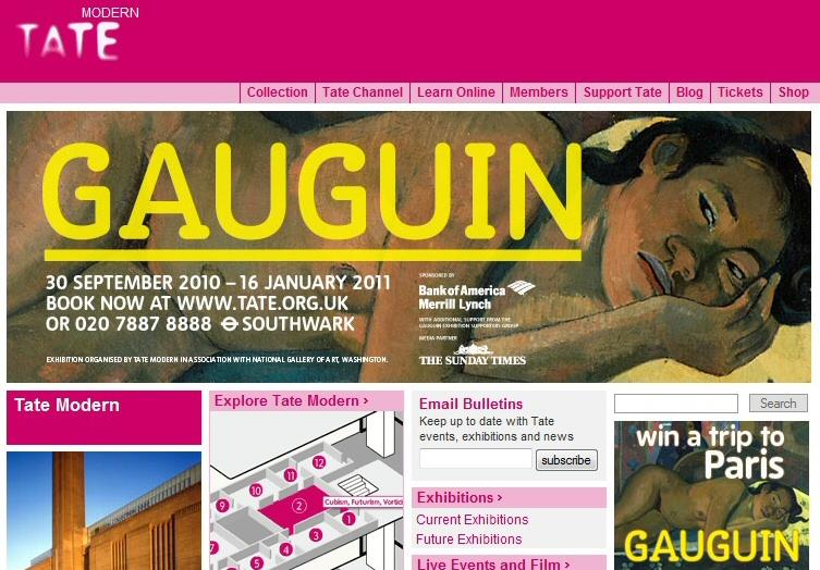 Exposición de Gauguin en el museo Tate Modern de Londres