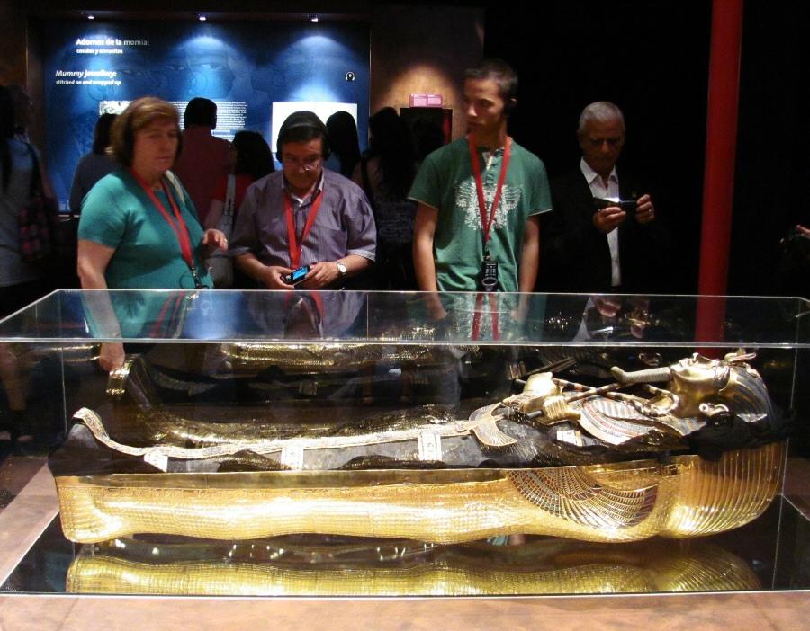 Exposición de Tutankamon de Madrid hasta el 16 de enero de 2011