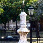 Fuente de Santa María en el Patio de los Naranjos en la Mezquita Catedral de Córdoba
