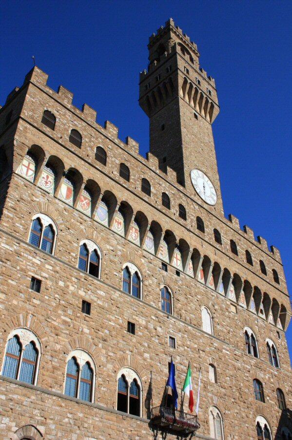 Palazzo Vecchio, sede del histórico ayuntamiento de Florencia