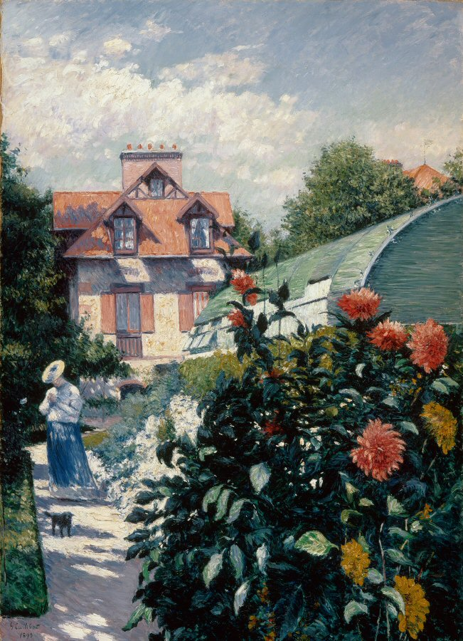 Exposición Jardines Impresionistas en el Museo Thyssen en Madrid
