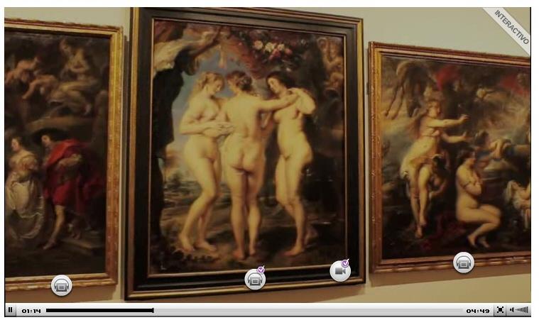 Vídeo interactivo online de la exposición de Rubens en el Museo del Prado de Madrid