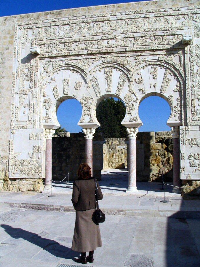 Puerta casa yafar en medina azahara en c rdoba gu as viajar - Medina azahara decoracion ...