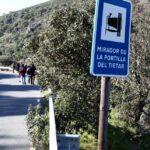 Mirador Portilla del Tietar en Monfrague en Extremadura