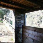 Observatorio de aves rapaces en el Mirador Portilla del Tietar en Monfrague en Extremadura
