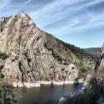 Salto del Gitano en el parque nacional de Monfrague en Extremadura