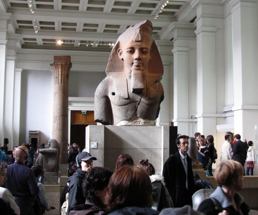 Museo Británico, la atracción turística más visitada de Londres
