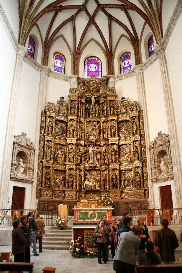 Capilla del Obispo en la Plaza de la Paja en Madrid
