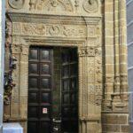 Puerta interior de la Catedral Nueva de Plasencia