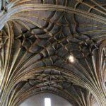Techo interior de la Catedral Nueva de Plasencia