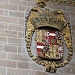 Escudo en el interior de la Catedral Nueva de Plasencia