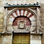Puerta de Abderramán II en Mezquita de Córdoba