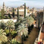 Vista de Córdoba desde la Torre de los Leones del Alcázar de los Reyes Cristianos